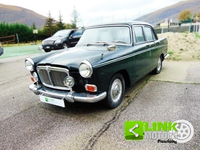 MG MAGNETTE MARK IV, ÅR 1964, BEVARET, REGISTRERT ASI, SKAL NATIONALISERES