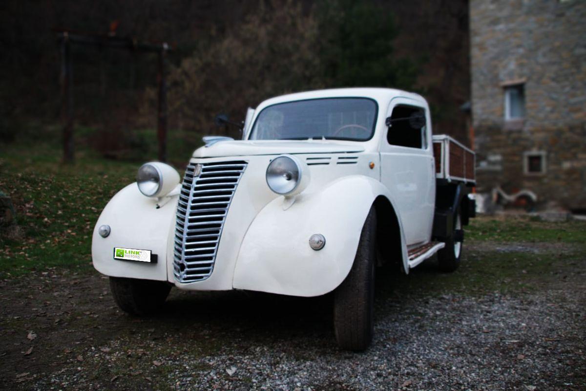 FIAT 1100 BLR CAMIONCINO, ANNO 1946, DOCUMENTI E TARGA ORIGINALI