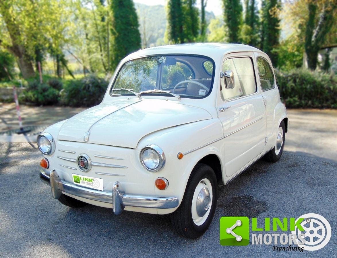 FIAT 600, ANNO 1960, COMPLETAMENTE RESTAURATA, PARI AL NUOVO