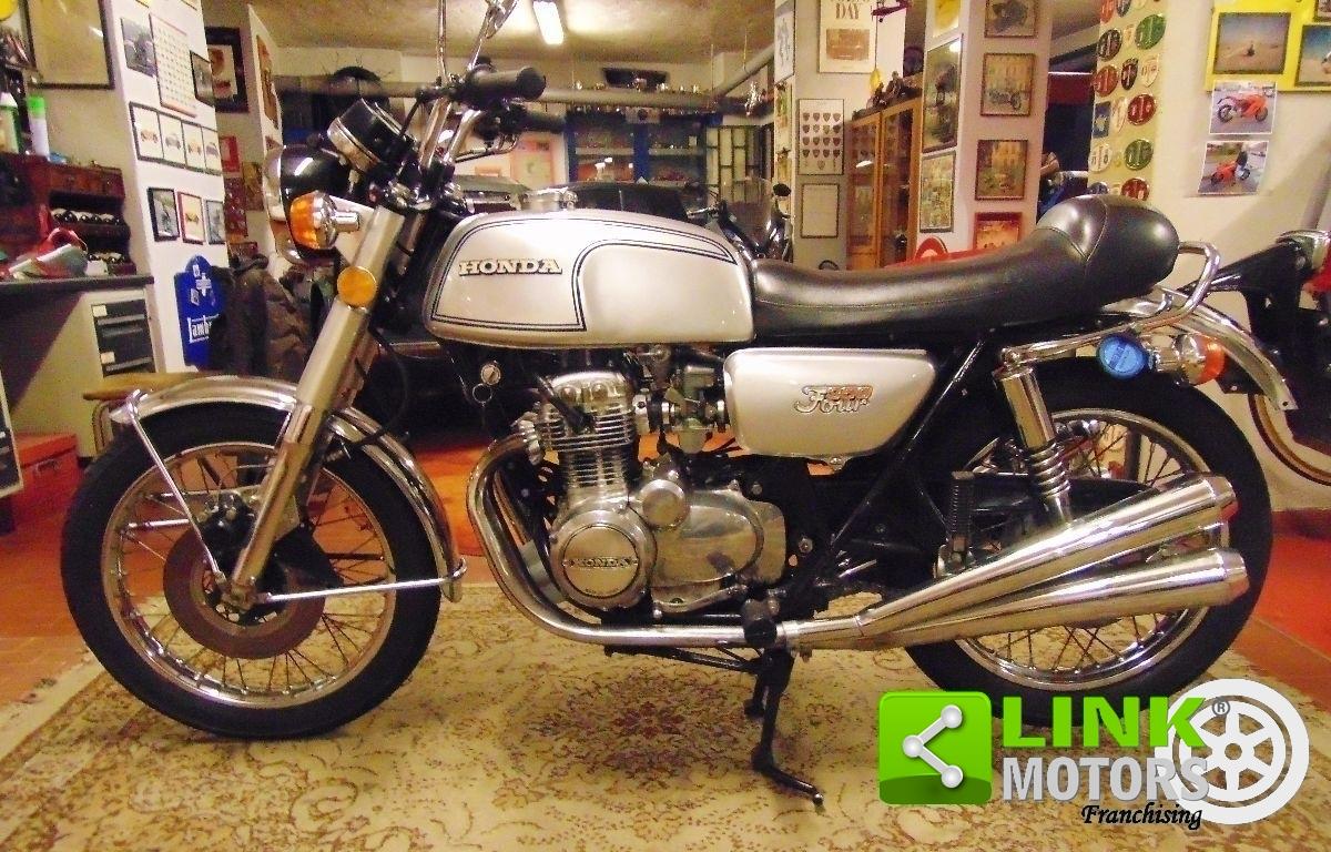 HONDA CB 350 FYR REGISTRERAD ASI - 1974