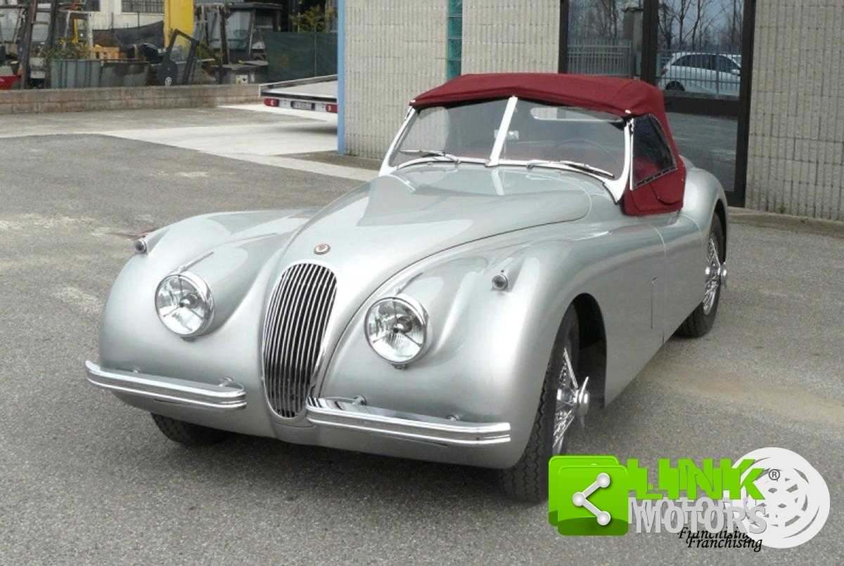 JAGUAR XK 120 OTS ROADSTER - 1952