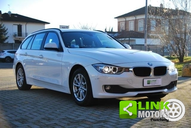 BMW SERIE 3 TOURING 316D BUSINESS AUTOMATIC UNIPROPRIETARIO MANUTENZIONE CERTIFICATA - 2013