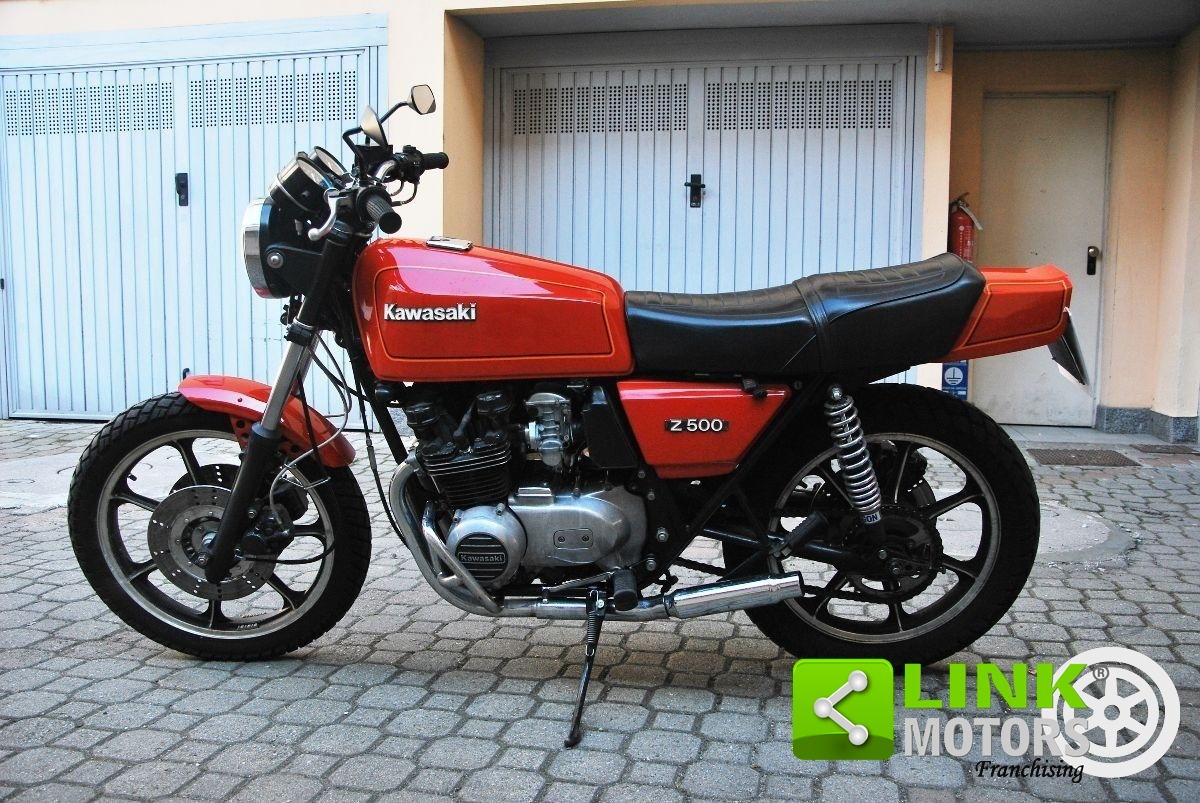 KAWASAKI Z 500 - 1980
