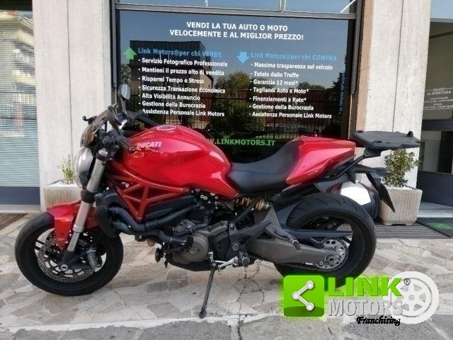 DUCATI MONSTER 821 ABS