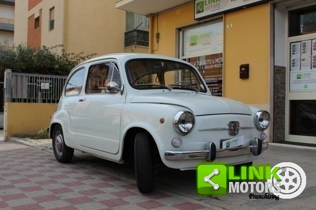 FIAT 600 TIPO 100 D FANALONA