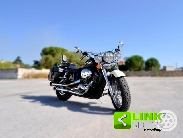 HONDA SHADOW 750 ACE CON ACCESSORI