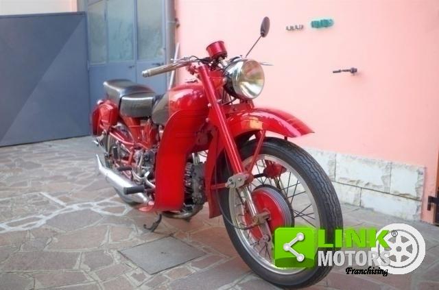 MOTO GUZZI AIRONE 250 SPORT - ANNO 1954 - DOC. & TARGA ORIGINALI