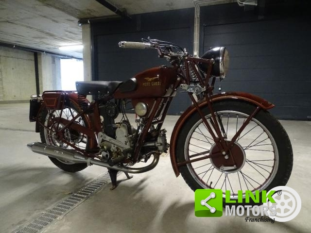 MOTO GUZZI - P 250 FROM 1934 COMPLETELY RESTORED