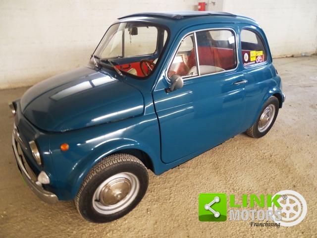 FIAT 500 F ANNO 1966 COMPLETAMENTE RESTAURATA