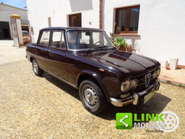 ALFA ROMEO GIULIA SUPER 1600 TI ANNO 1972