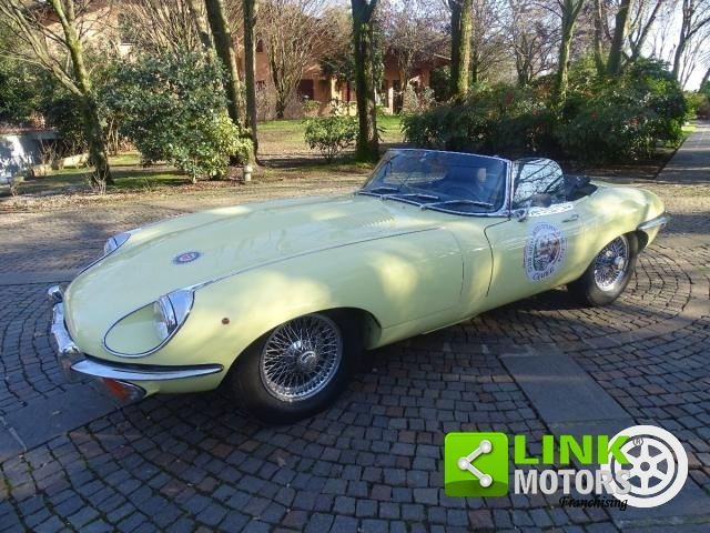 JAGUAR E-TYPE SPIDER REGISTRERET PÅ ASI