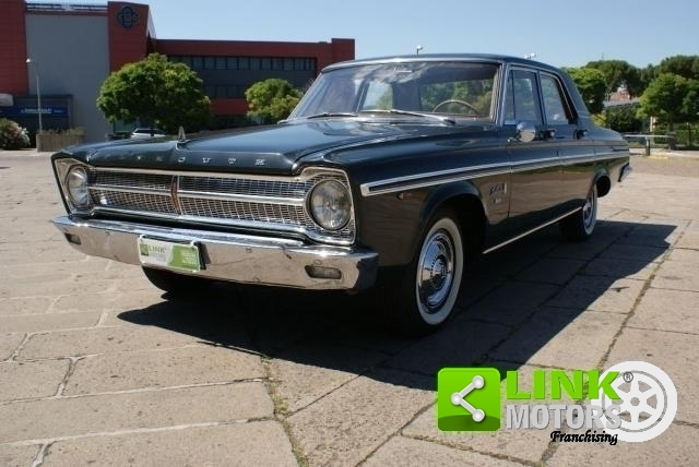 PLYMOUTH BELVEDERE II MODEL YEAR 1966