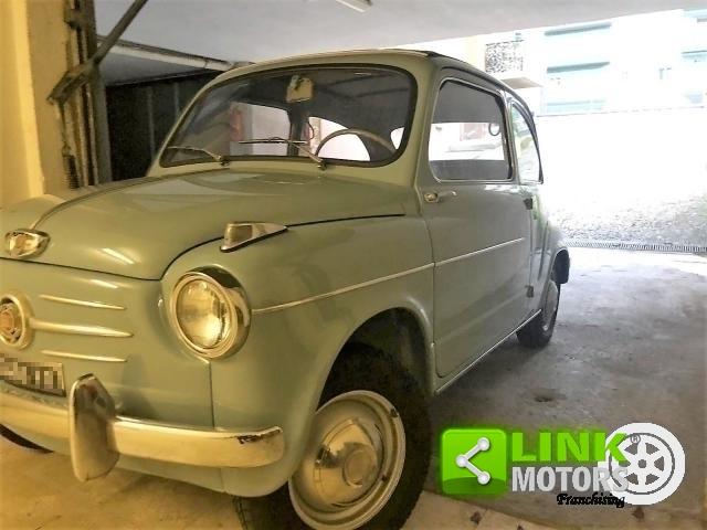 FIAT SEICENTO CABRIO TRASFORMABILE CELESTE 1957 OTTIMO STATO