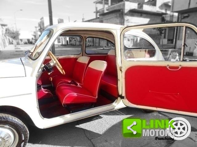 FIAT 600 D 0.8 DEL 1963