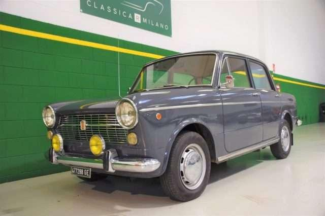 OLDTIMER FIAT 1100 R - FROM MUSEUM - REGISTERED ASI