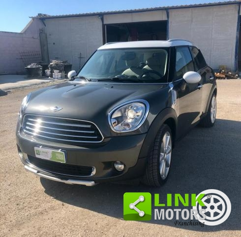 MINI - COUNTRYMAN - COOPER 1.6 D! LOOK FOR! SENSORS! LEATHER INTERIOR!