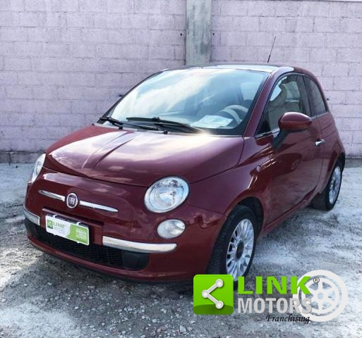 FIAT - 500 - 1.3 MULTIJET 16V 75CV LOUNGE. TETTO PANORAMICO!!